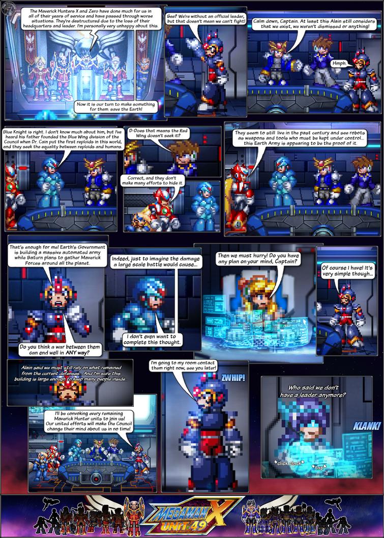MMX:U49 - S1Ch5: Eerie Changes (Page 3) by IrregularSaturn