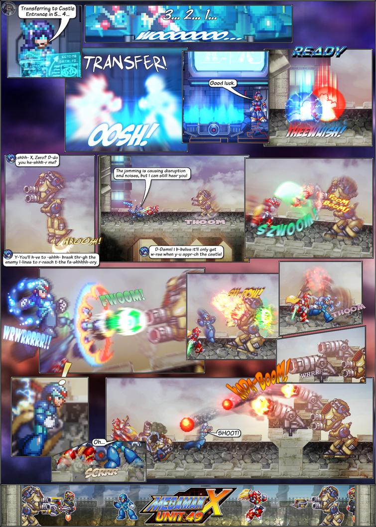 MMX:U49 - S1Ch8: The Siege Begins! (Page 1) by IrregularSaturn