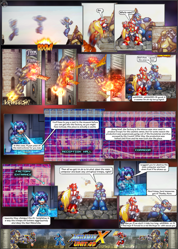 MMX:U49 - S1Ch8: The Siege Begins! (Page 4) by IrregularSaturn