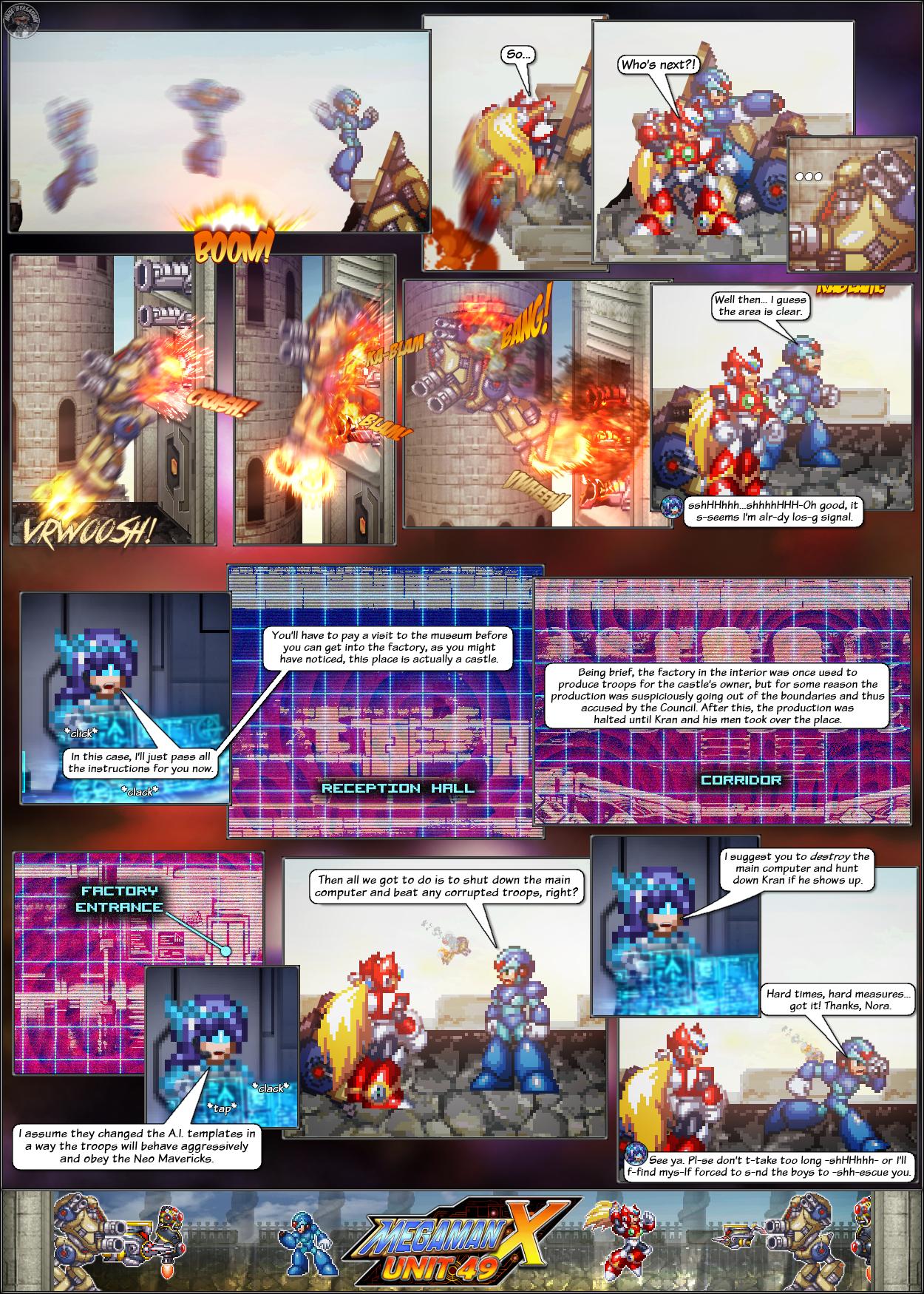 MMX:U49 - S1Ch8: The Siege Begins! (Page 4) by IrregularSaturn