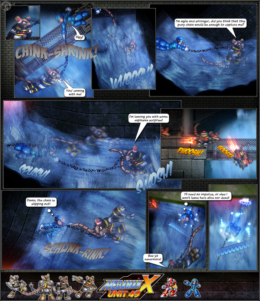 MMX:U49 - S1Ch11: Cat and Mice (Page 10) by IrregularSaturn