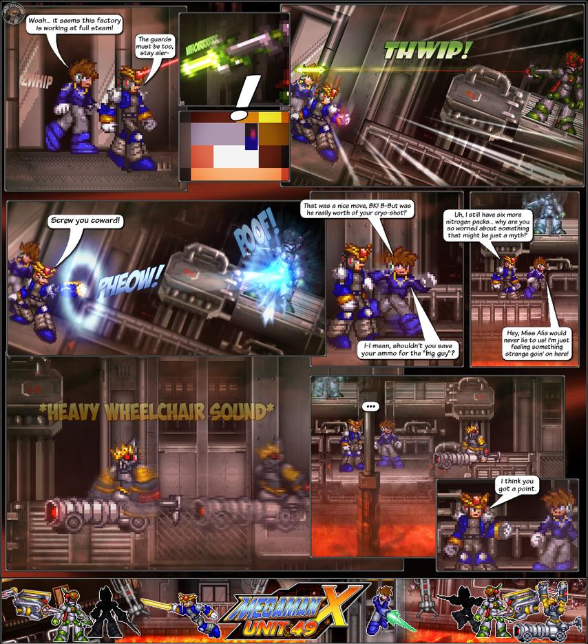 MMX:U49 - S1Ch12: Factory Problems (Page 4) by IrregularSaturn