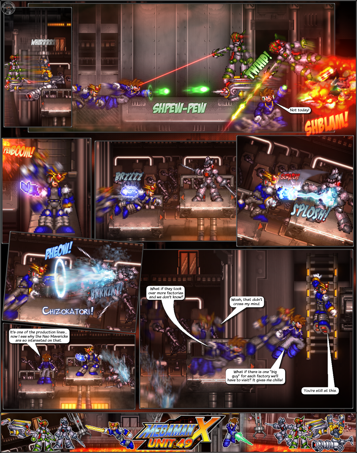 MMX:U49 - S1Ch12: Factory Problems (Page 6) by IrregularSaturn