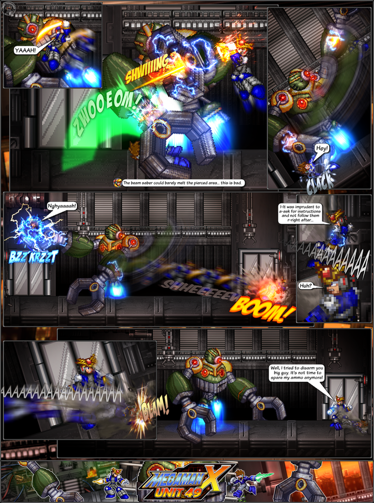 MMX:U49 - S1Ch13: Forgotten Monstrosity (Page 3) by IrregularSaturn