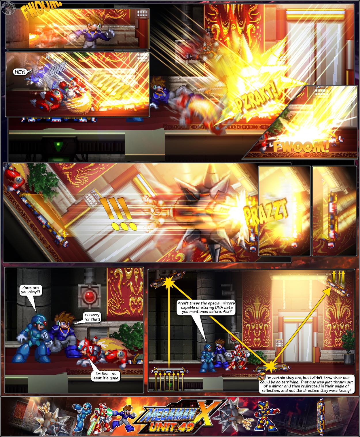 MMX:U49 - S1Ch14: Royal Blockades (Page 4) by IrregularSaturn