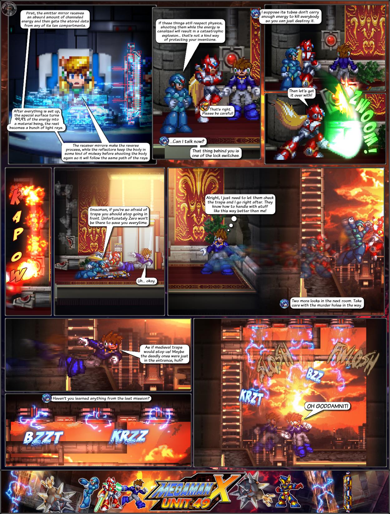 MMX:U49 - S1Ch14: Royal Blockades (Page 5) by IrregularSaturn