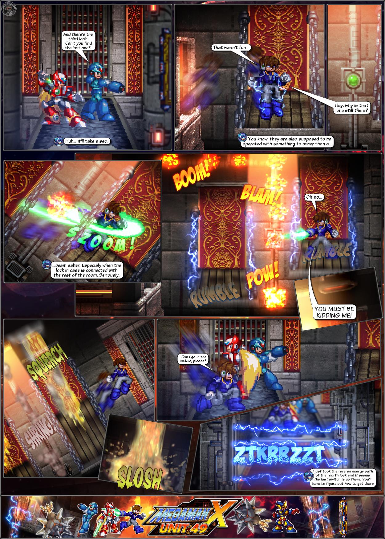 MMX:U49 - S1Ch14: Royal Blockades (Page 6) by IrregularSaturn