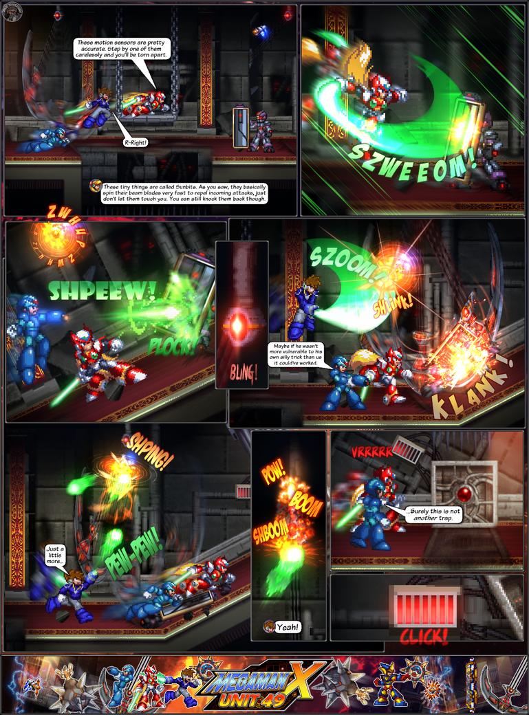 MMX:U49 - S1Ch14: Royal Blockades (Page 10) by IrregularSaturn