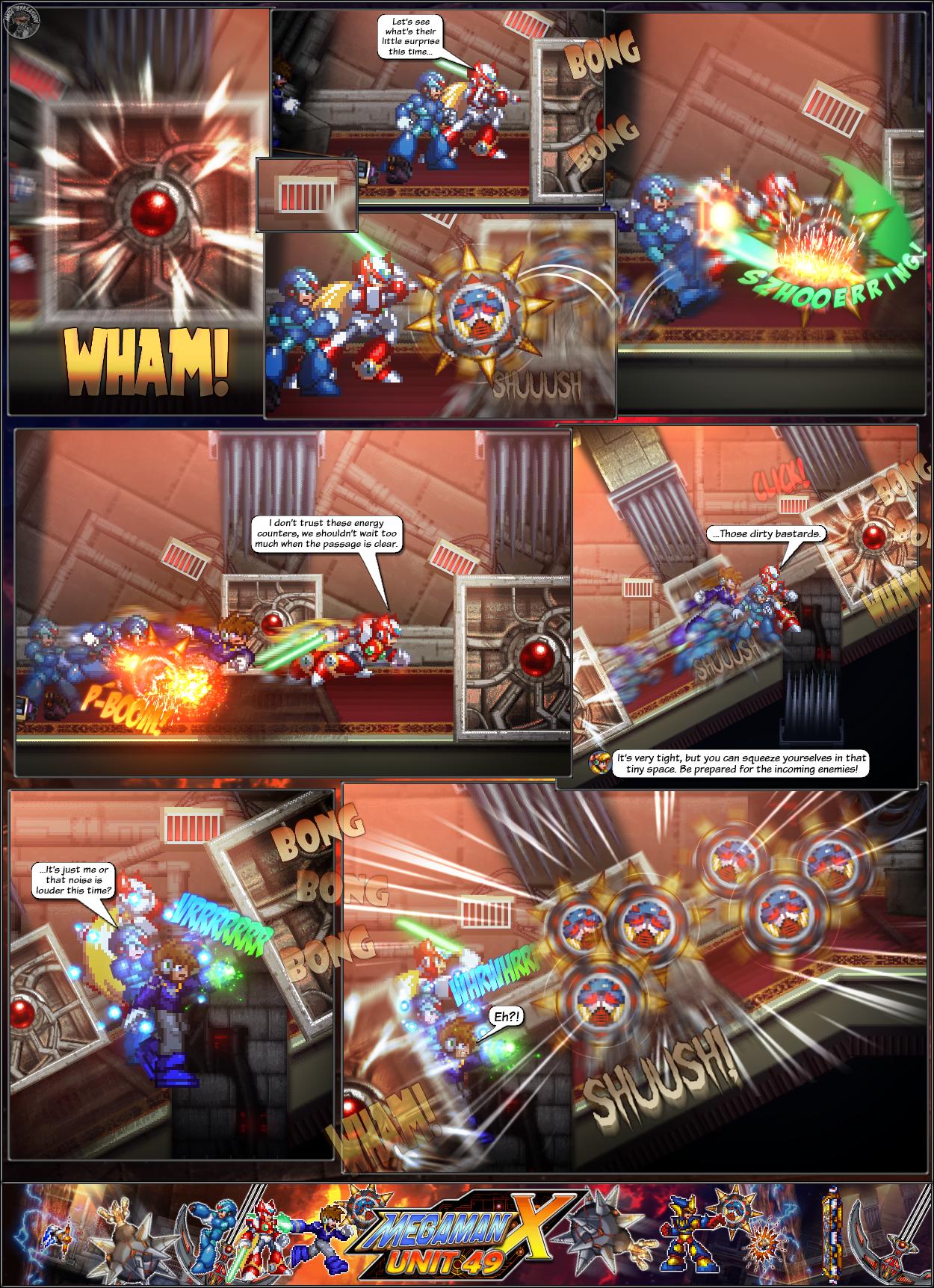 MMX:U49 - S1Ch14: Royal Blockades (Page 11) by IrregularSaturn