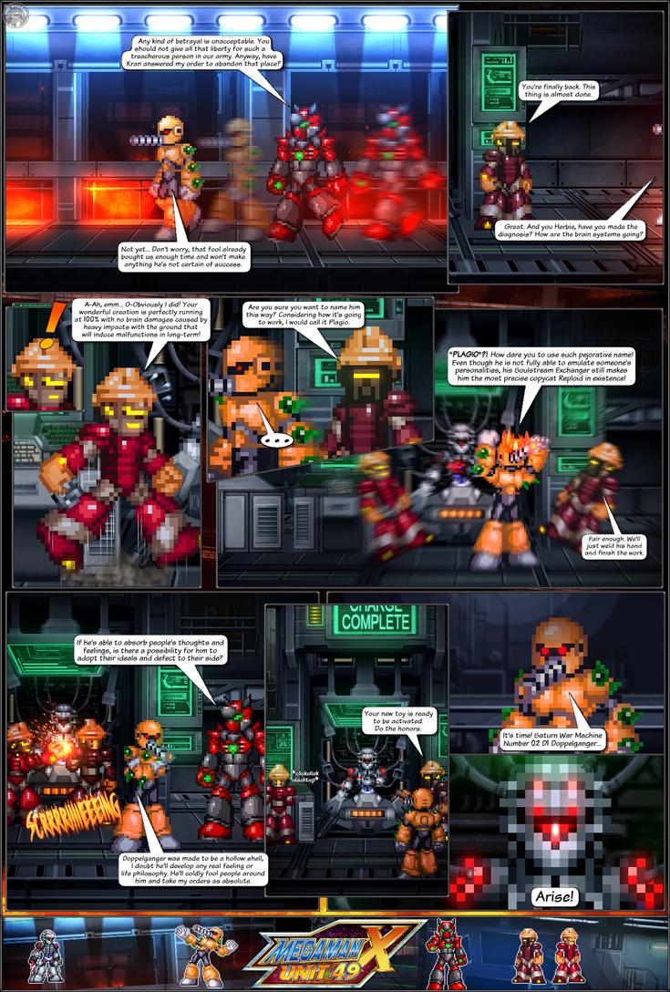 MMX:U49 - S1Ch15: Birth of a Plagiarist (Page 2) by IrregularSaturn