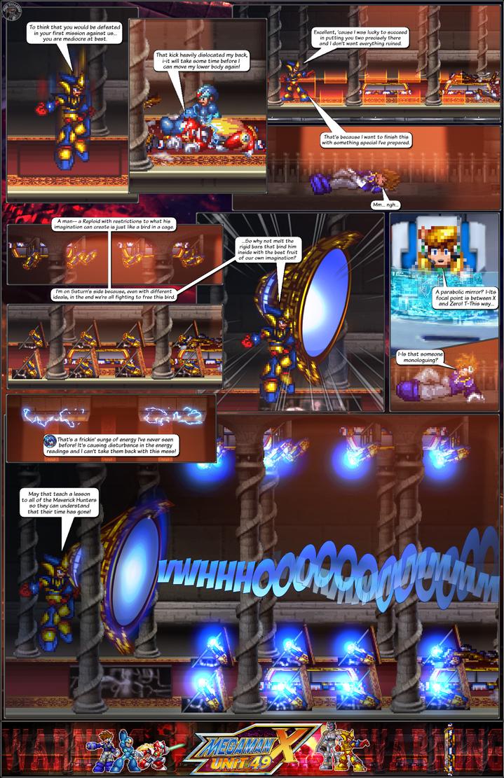 MMX:U49 - S1Ch16: Orchestra of Lights (Page 14) by IrregularSaturn