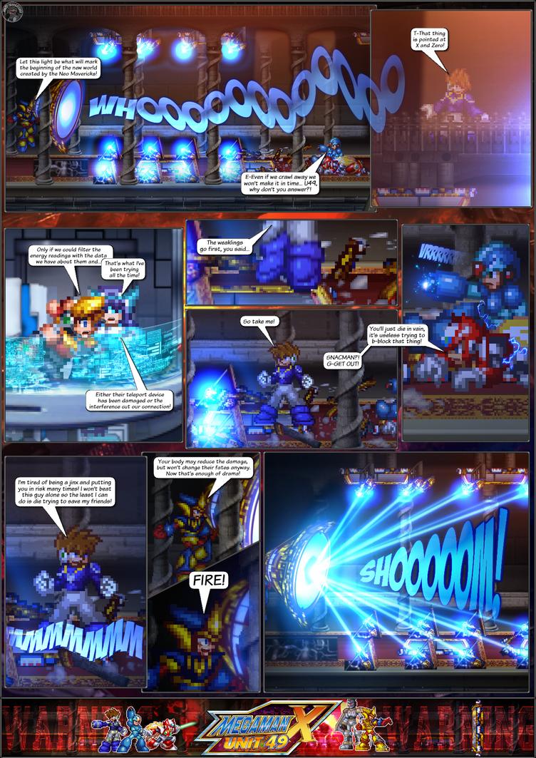 MMX:U49 - S1Ch16: Orchestra of Lights (Page 15) by IrregularSaturn