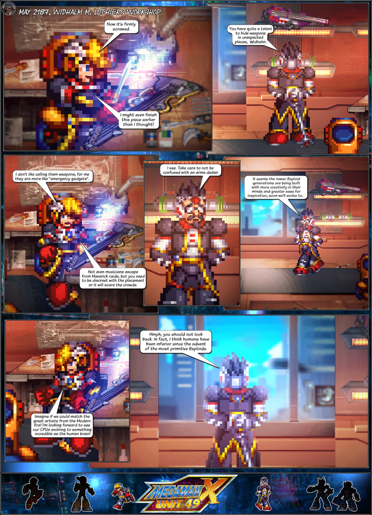 MMX:U49 - S1Ch17: Chain Vengefulness (Page 1) by IrregularSaturn