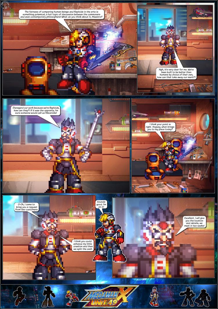 MMX:U49 - S1Ch17: Chain Vengefulness (Page 2) by IrregularSaturn