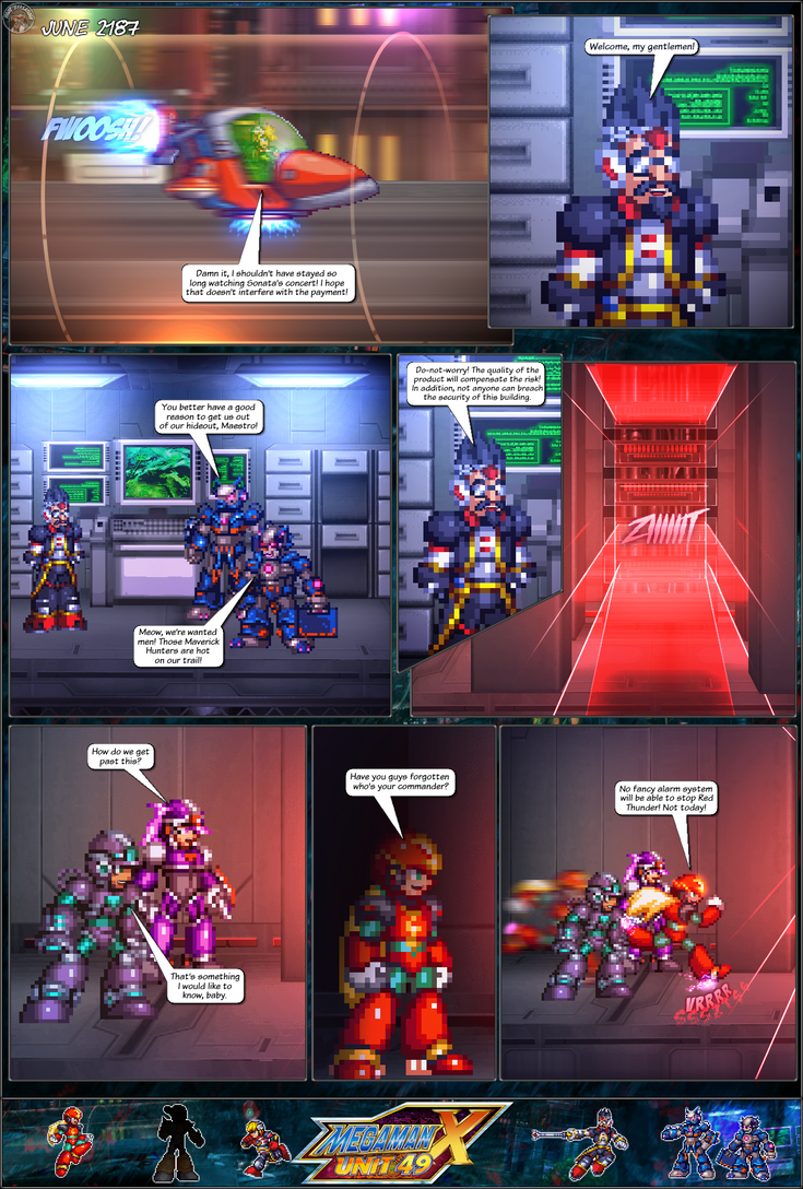 MMX:U49 - S1Ch17: Chain Vengefulness (Page 3) by IrregularSaturn