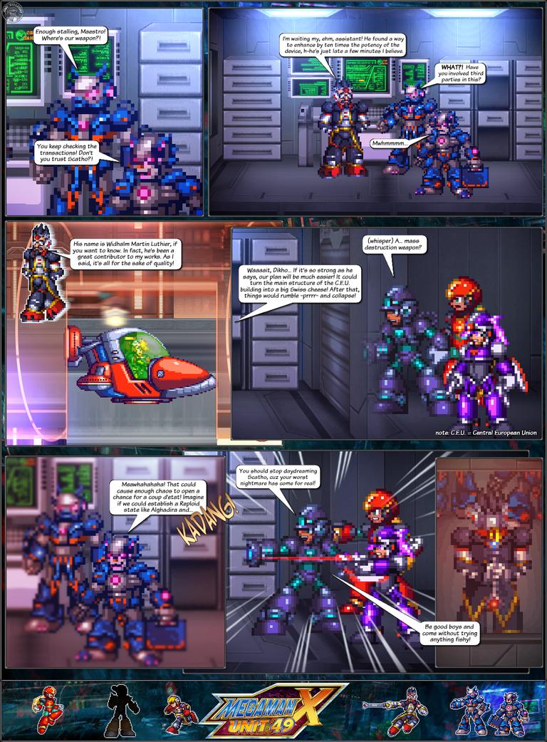 MMX:U49 - S1Ch17: Chain Vengefulness (Page 5) by IrregularSaturn