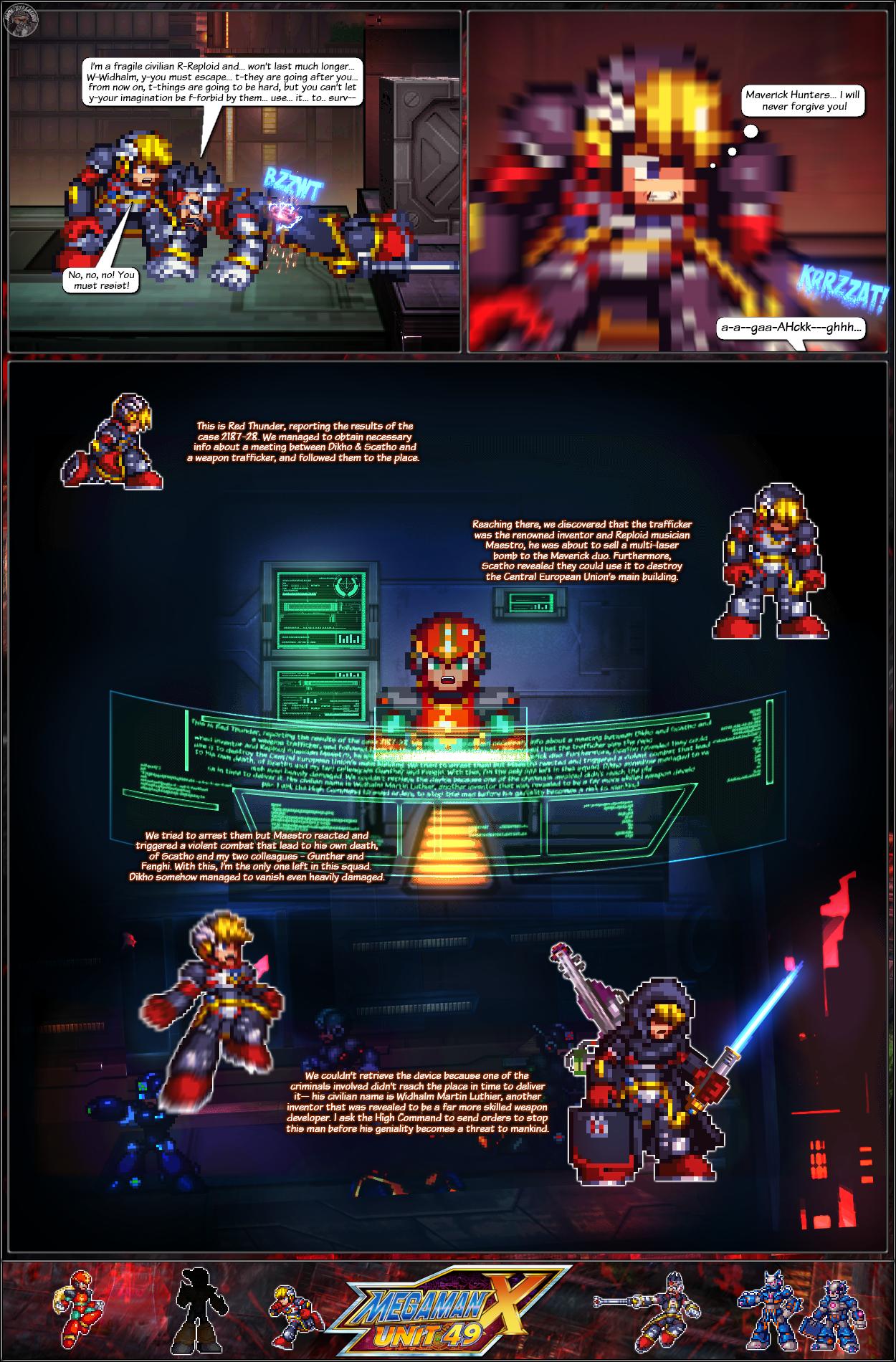MMX:U49 - S1Ch17: Chain Vengefulness (Page 9) by IrregularSaturn