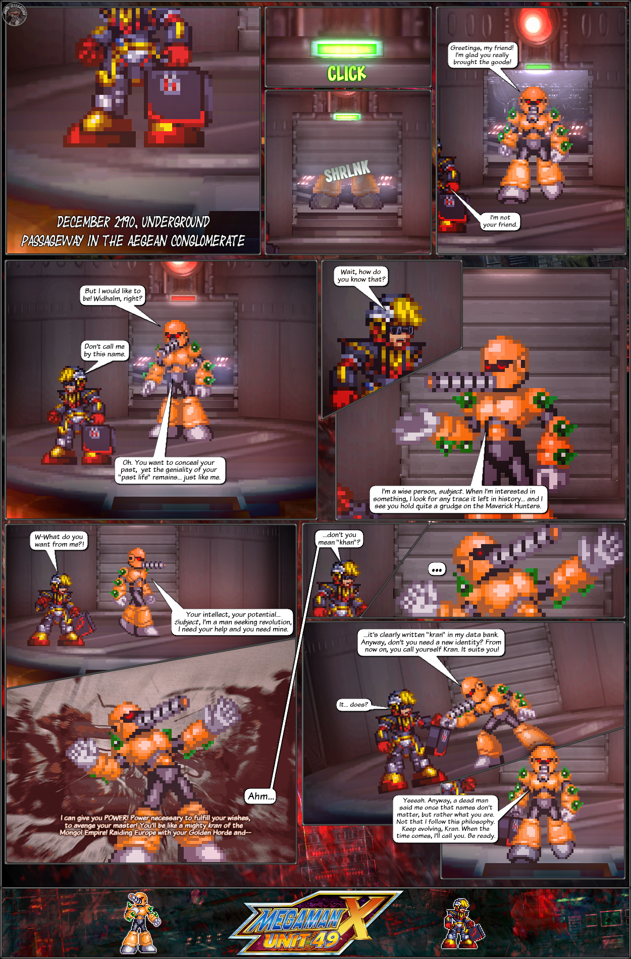 MMX:U49 - S1Ch17: Chain Vengefulness (Page 10) by IrregularSaturn