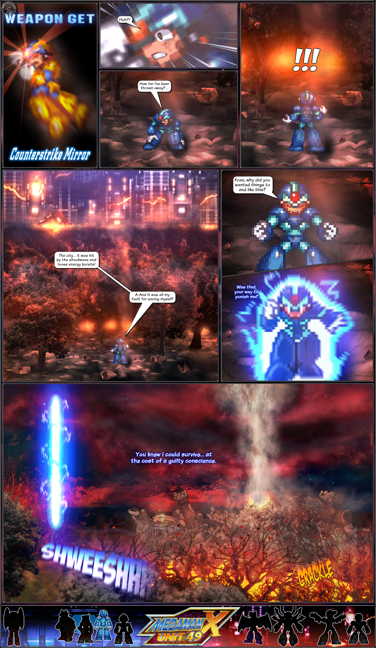 MMX:U49 - S1Ch19: The Evil Settles Up (Page 1) by IrregularSaturn