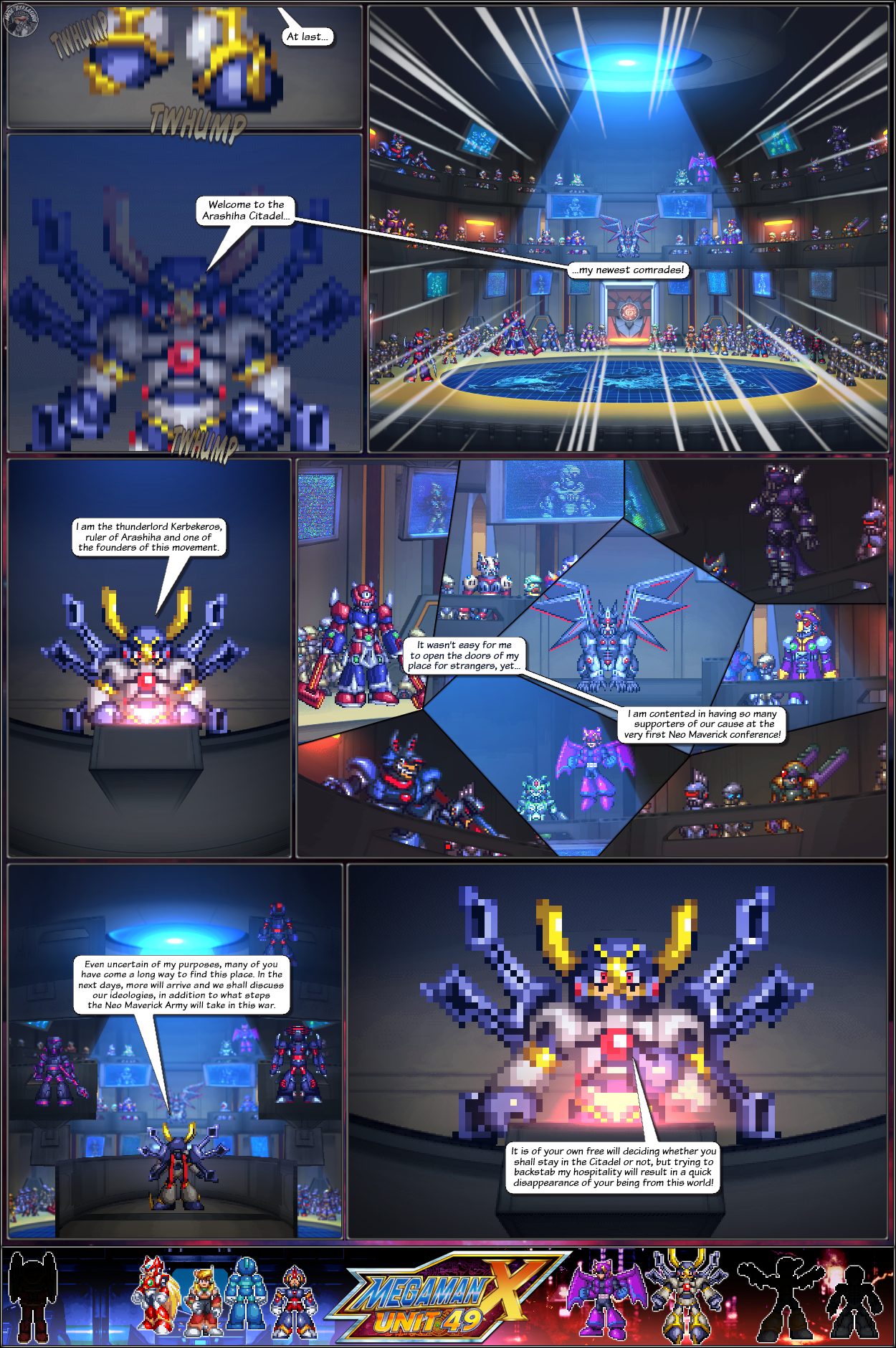 MMX:U49 - S1Ch19: The Evil Settles Up (Page 4) by IrregularSaturn