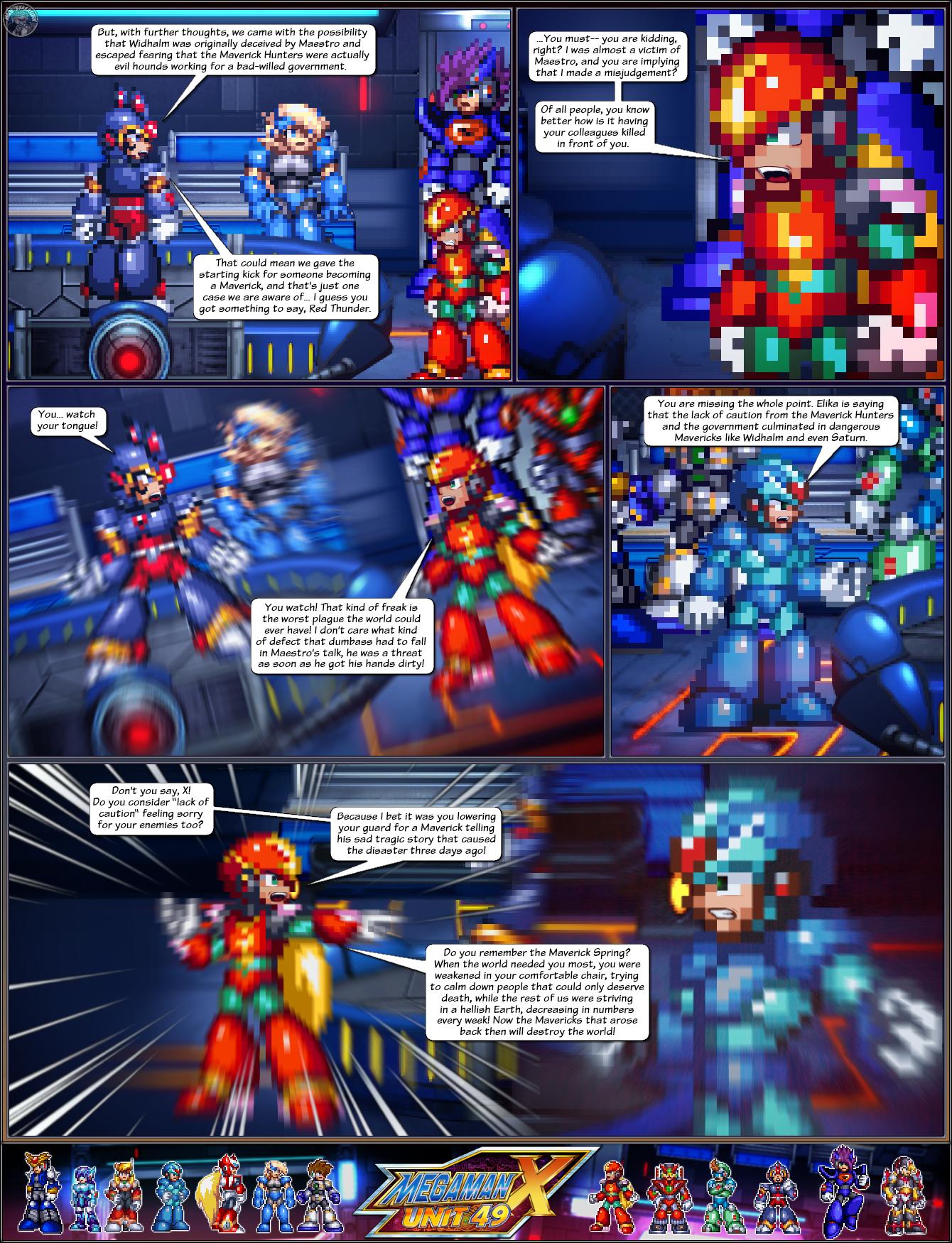 MMXU49 S2C11: The New Hands (Pg 5) by IrregularSaturn