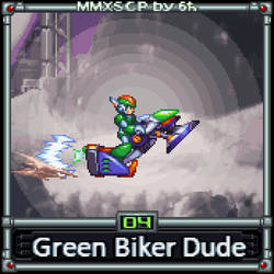 Green Biker Dude (MMX:SCP #04) by IrregularSaturn