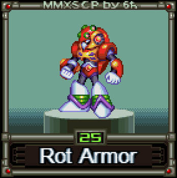 Rot Armor (MMX:SCP #25) by IrregularSaturn