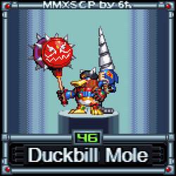Duckbill Mole (MMX:SCP #46)