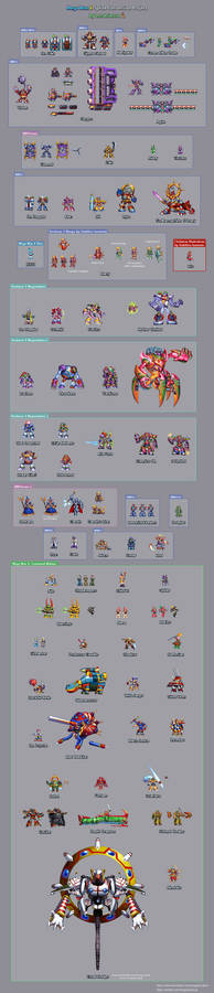 Mega Man X: Sprite Conversion Project Compilation
