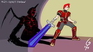 Panetober #24 - Hero's Shadow