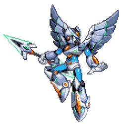 Silver Skydiver [Commission]