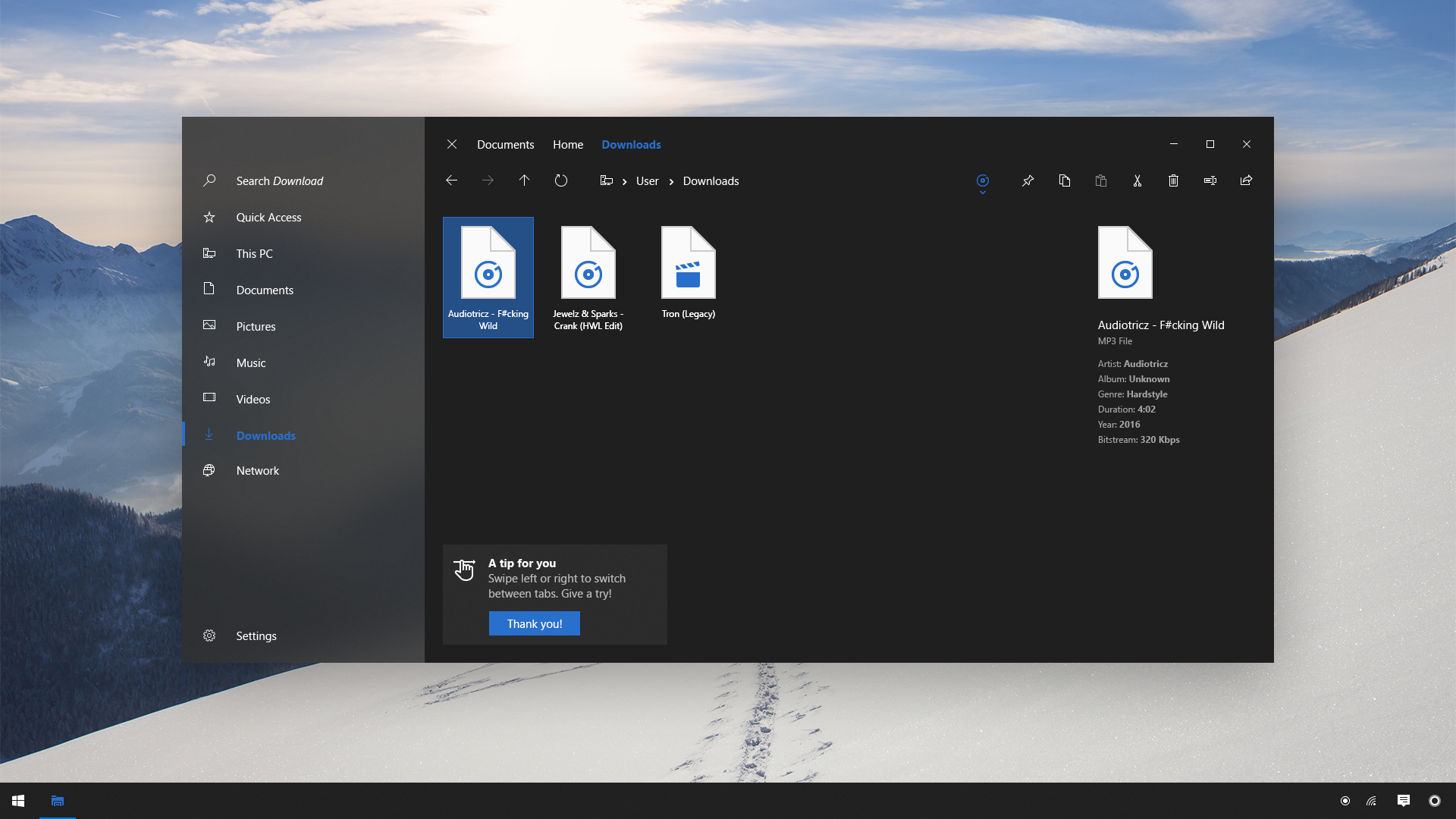 File Explorer 2.0 - Win10 Project Neon Concept