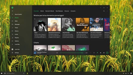 Spotify - Win10 Project Neon Concept