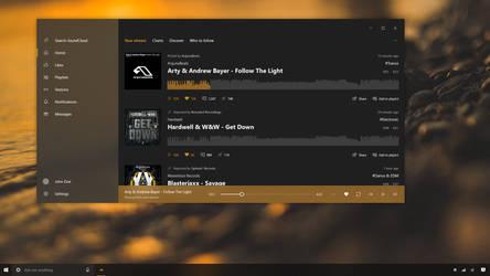 SoundCloud - Fluent Design System Concept