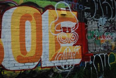 Graffiti Over Graffiti by KalikaMarie