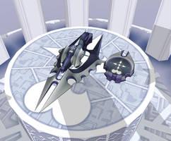 MMD newcomer Nobody Glyder by FallenAngelRiku