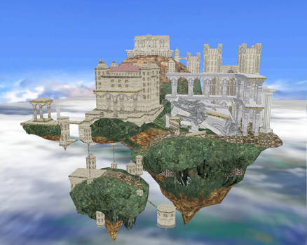 MMD Newcomer Hyrule Temple Stage
