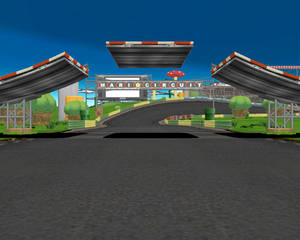MMD Newcomer Mario Kart Stage