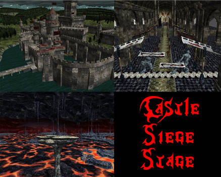 MMD Newcomer Stage Castle Siege