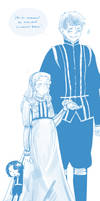 Lucrezia and Antonio by Germany-san