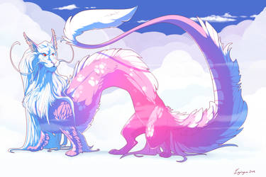 Falkor the Luck Dragon by ignigeno