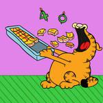 Happy Birthday Lasagna Cat