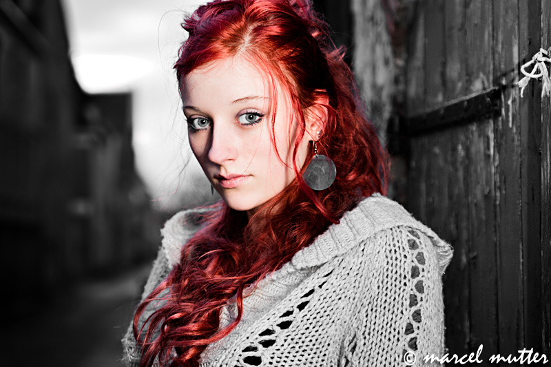 Black White Red by NeciaNavine