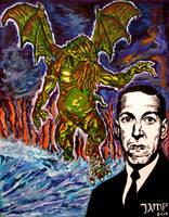 Lovecraft by JosefVonDoom