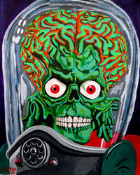 Mars Attacks !! by JosefVonDoom