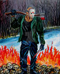 Jason returns from Hell (Friday the 13th)