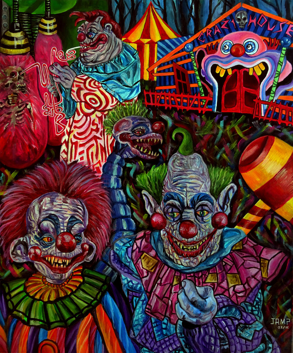 The gallery for killer klowns from outer space 2 for Killer klowns 2