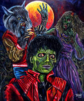 Michael Jackson Thriller by JosefVonDoom