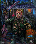 Jason Voorhees.- Friday the 13th