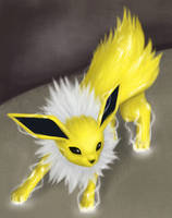Charged Jolteon by FireAnne